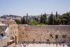 Wy ściana w Jerozolima Obraz Stock