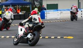 wyścigi motocykla Fotografia Royalty Free