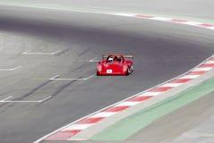 wyścigi samochodów Obraz Stock
