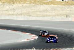 wyścigi samochodów Zdjęcia Royalty Free