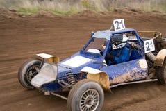 wyścigi samochodów Obraz Royalty Free