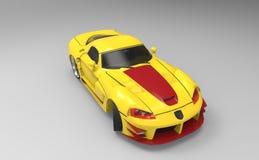 wyścigi samochodów Obrazy Stock