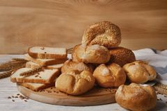 Wyśmienicie bochenki chleb Obrazy Stock