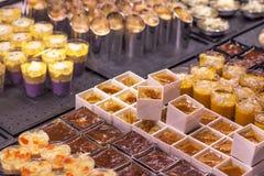 Wyśmienicie ciasteczka przy sklepem Fotografia Stock