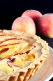 Wyśmienicie domowej roboty brzoskwinia kulebiak Obrazy Stock