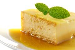 Wyśmienicie domowej roboty Panny cotta deser Creme karmel, karmelu custard, Custard pudding, Flan Zdjęcia Royalty Free