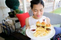 Wyśmienicie hamburgery Obraz Stock