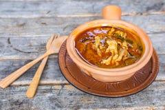 Wyśmienicie kurczaka panang curry Zdjęcie Stock