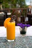 Wyśmienicie mangowy smoothie Fotografia Stock