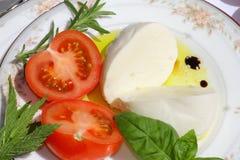 Wyśmienicie mozzarella ser Obrazy Royalty Free