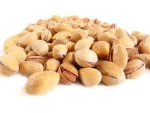 wyśmienicie odosobniony pistacjowy biel Obraz Stock