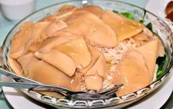 Wyśmienicie ostrygowej pieczarki naczynie Fotografia Stock