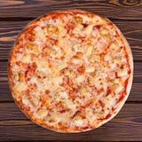 Wyśmienicie, soczysta pizza, Zdjęcie Stock