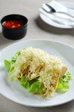 wyśmienicie tacos Obraz Royalty Free