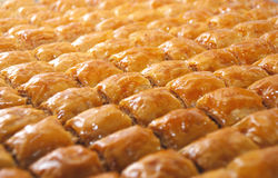 Wyśmienicie Turecki cukierki: Baklava Zdjęcia Stock
