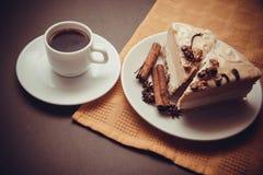 Wyśmienicie waniliowy souffle Zdjęcie Royalty Free