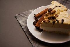 Wyśmienicie waniliowy souffle Zdjęcie Stock