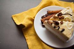 Wyśmienicie waniliowy souffle Fotografia Stock