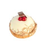 Wyśmienicie waniliowy souffle tort Fotografia Stock