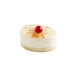 Wyśmienicie waniliowy souffle tort Obraz Royalty Free