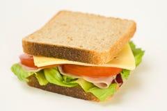 wyśmienicie zdrowa kanapka Obrazy Royalty Free