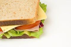 wyśmienicie zdrowa kanapka Obraz Stock