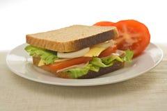 wyśmienicie zdrowa kanapka Obrazy Stock
