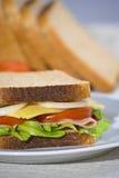 wyśmienicie zdrowa kanapka Fotografia Royalty Free