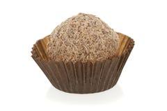 Wyśmienita czekoladowa trufla Fotografia Royalty Free