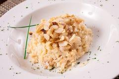 Wyśmienity czosnku risotto Zdjęcie Stock
