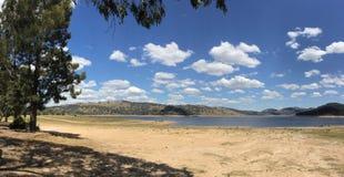 Wyangala påstår rekreation parkerar nära Cowra i landet New South Wales Australien Arkivfoton