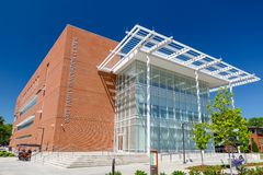 Wyatt Family Innovation Center at Clemson. CLEMSON, SC, USA - May 2: Wyatt Family Innovation Center at Clemson University on May 2, 2019 in Clemson, South stock photography