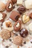 Wybór czekolady Zdjęcia Royalty Free
