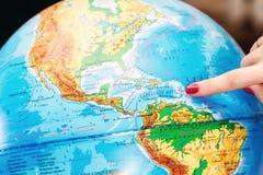 Wybór lokacja dla podróży zdjęcia royalty free