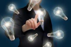 Wybór najlepszy biznesowi pomysły Fotografia Stock