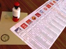 Wybór Powszechny w Turcja, 2015 Zdjęcia Stock