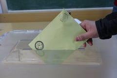 Wybór Powszechny w Turcja, 2015 Zdjęcie Royalty Free