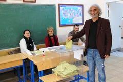 Wybór Powszechny w Turcja, 2015 Obraz Royalty Free
