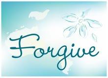 Wybacza kartę ilustracji