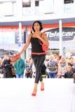 wybiegu czerwieni buty Zdjęcie Royalty Free