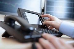 Wybierać numer telefoniczną klawiaturę Zdjęcia Royalty Free