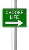 Wybiera życie ilustracji