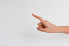 Wybiera kandydata, działów zasobów ludzkich i zatrudnieniowego pojęcia na białym tle, Zdjęcia Stock