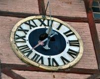 Wybiera numer starego clock_2 zdjęcie royalty free