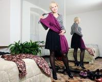Wybierać odziewa Zdjęcia Stock