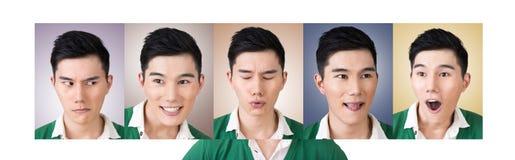 Wybiera wyrażenie twarz fotografia royalty free