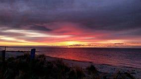 Wybitny wschód słońca Zdjęcia Stock