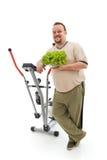 wyborów zdrowa mężczyzna nadwaga s Zdjęcia Stock