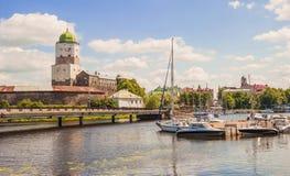 Wyborg Stockfoto