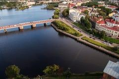 Wyborg, Russland, im August 2016: Historisches und Architekturmuseum-reserve-Schloss Stockfotografie
